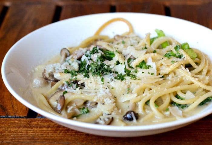 Amazing pasta dish at the Tiburon Tavern!
