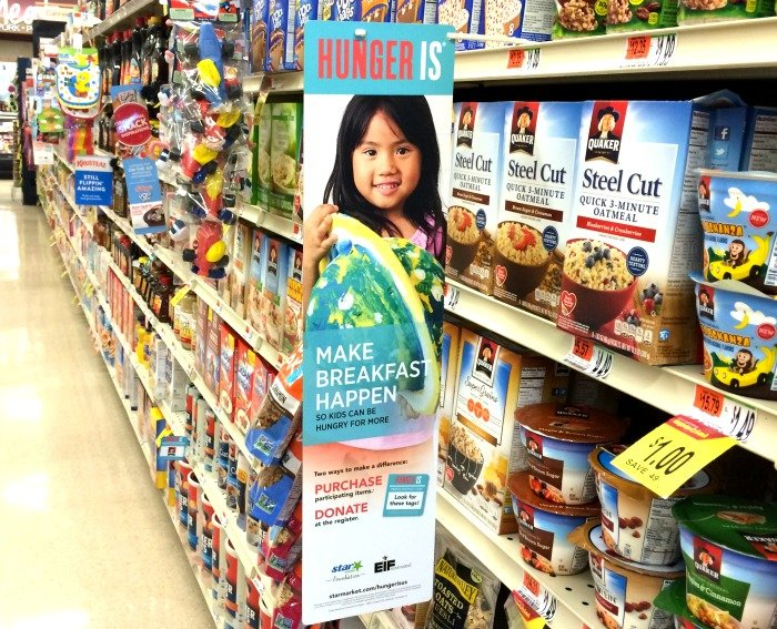 Help fight hunger with Star Market in September 2016
