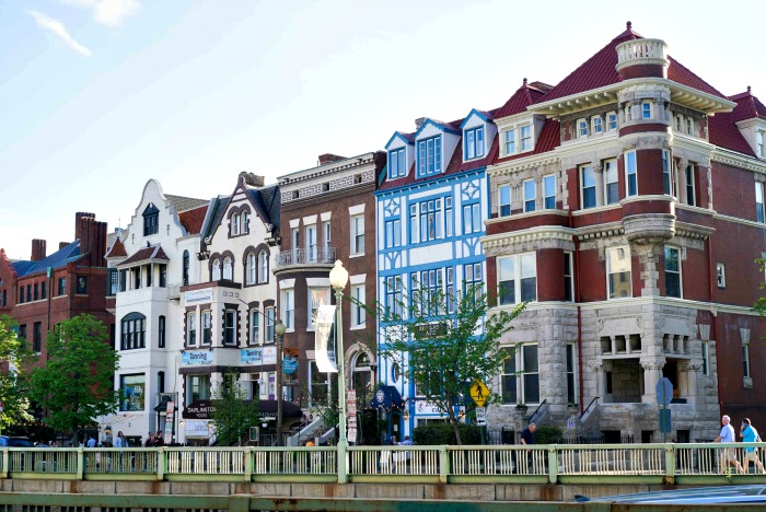 Dupont Circle is a vibrant part of the Washington, D.C. foodie scene.