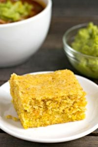 The gluten free cornbread is so easy to make. It's a delicious side dish for soup or chili, and it makes a great snack. Recipe from realfoodrealdeals.com