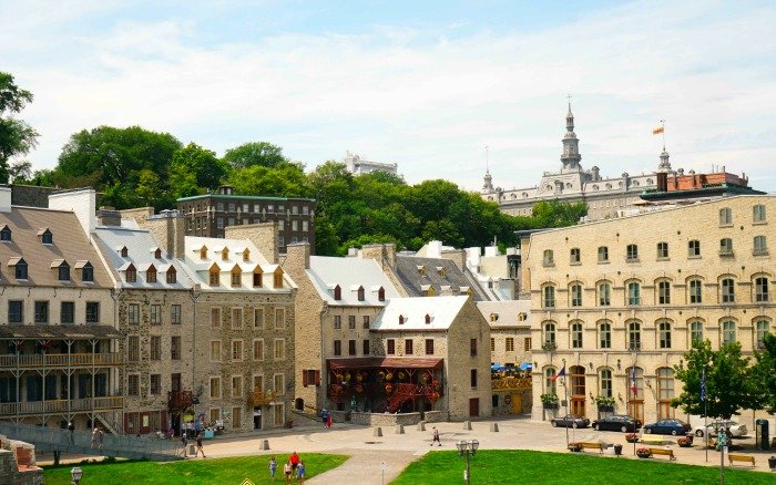 Quebec City's architecture makes you feel like you're in Europe!