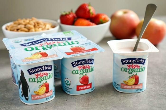 Stonyfield YoKids Organic yogurt has made a commitment to lowering its sugar content. Great step toward healthier children!