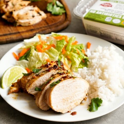 Cilantro lime chicken, a healthy dinner recipe