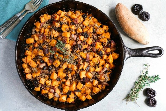 This sweet potato hash is so easy and delicious!