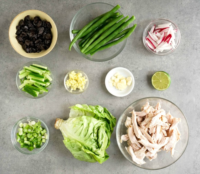 Chef'd meal kit ingredients