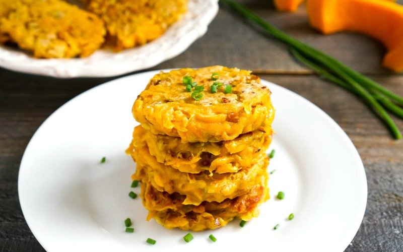 These butternut squash fritters are a great way to use winter squash. The healthy side dish recipe has the perfect combination of sweet and savory flavors.