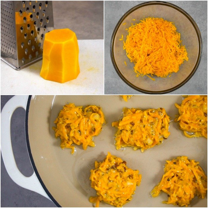 These squash fritters are so easy to make!