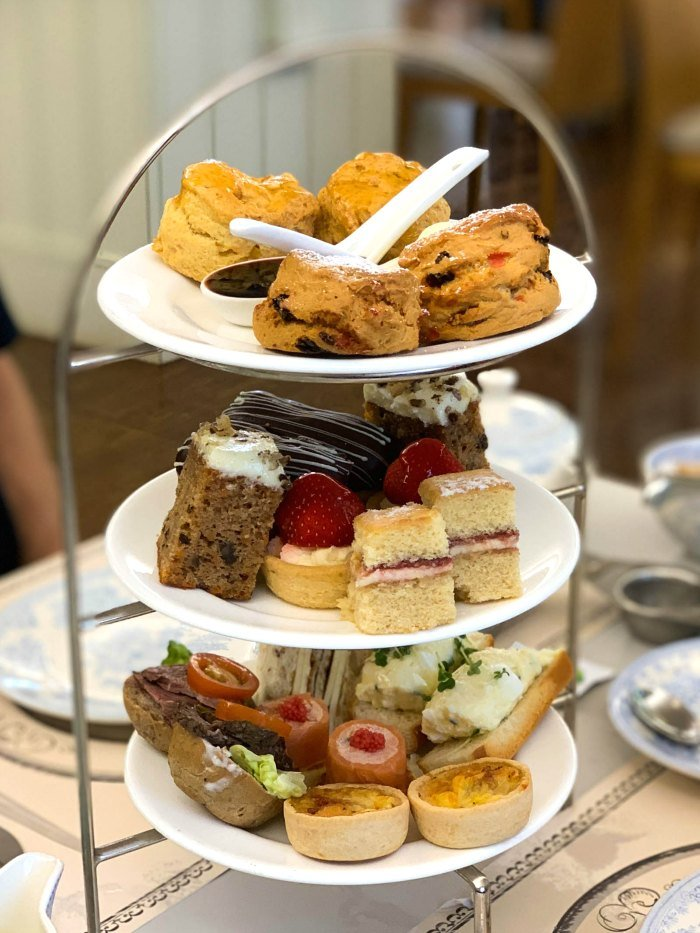 Afternoon tea is a popular tradition enjoyed throughout the United Kingdom.