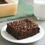 Allergy-friendly brownies