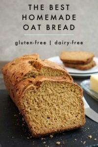 Sliced oat bread