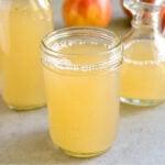 Vinegar in a jar