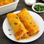 Gluten free enchiladas with cilantro