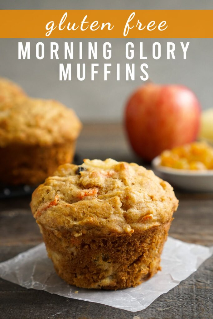 gluten free morning glory muffin